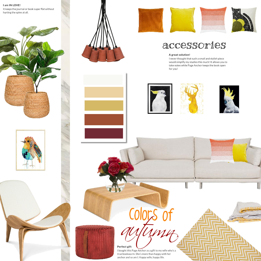 colors of autumn Interior Design Mood Board by Magdolna Levai on Style Sourcebook