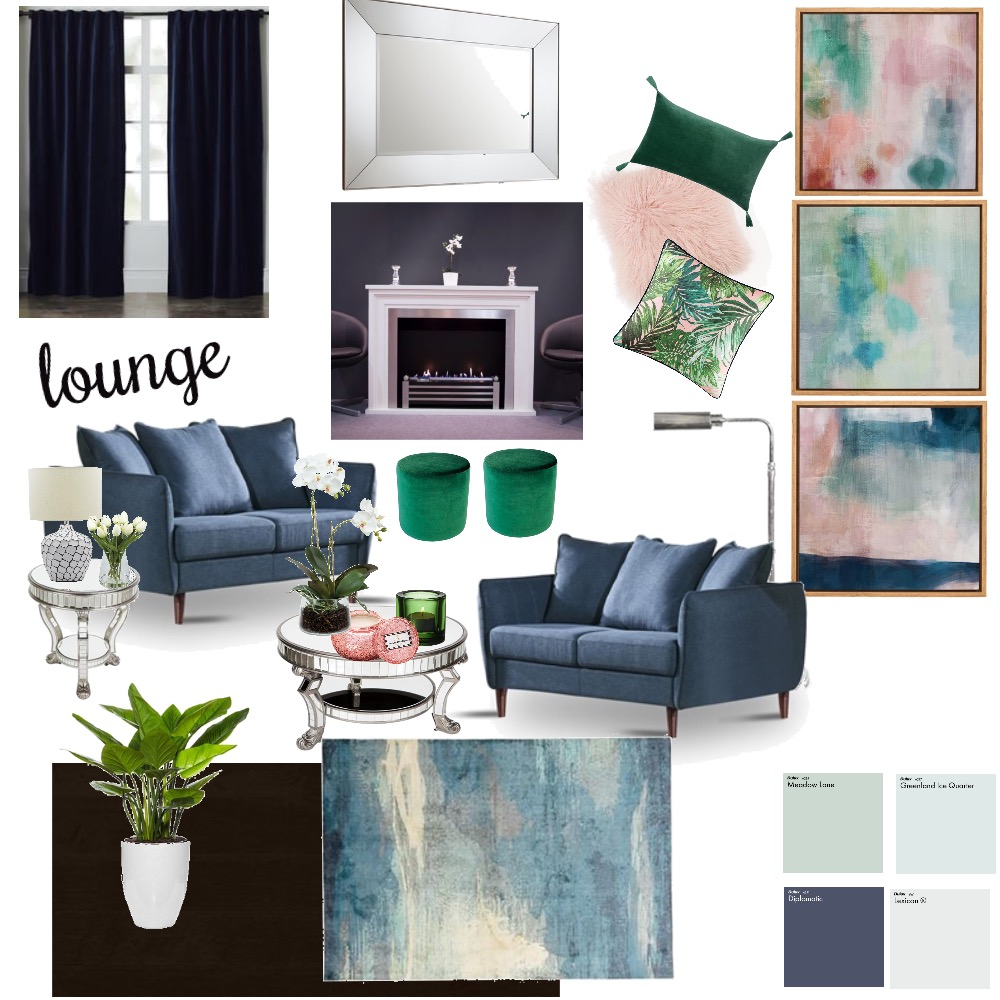 Lounge Interior Design Mood Board by yvettescott on Style Sourcebook