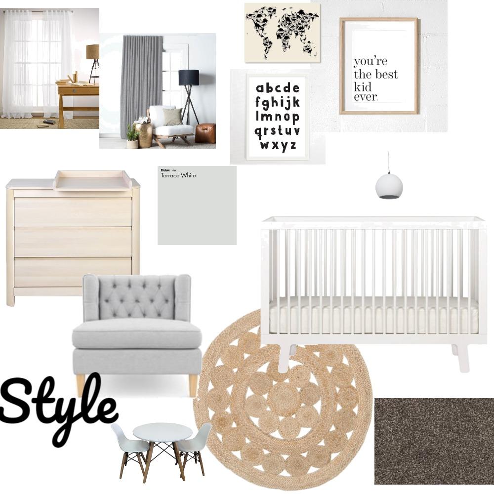 Nursery- gender neutral Interior Design Mood Board by nicoleannekeogh on Style Sourcebook