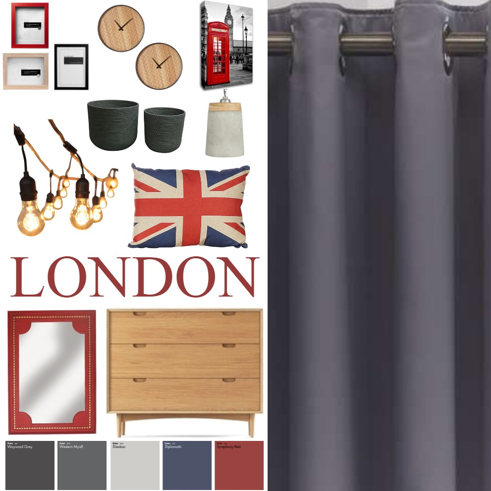 LONDON Interior Design Mood Board by Madre11 on Style Sourcebook