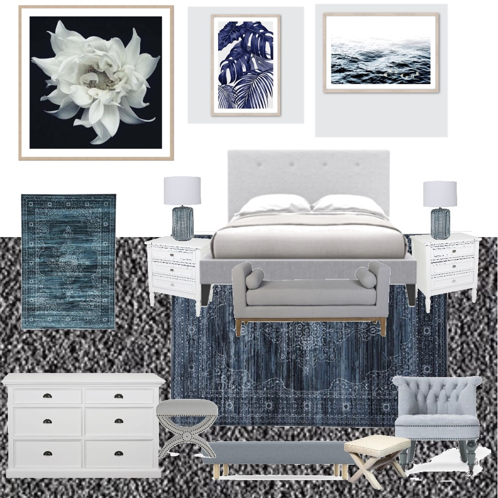 Master Bedroom Interior Design Mood Board by CrystalLeigh on Style Sourcebook