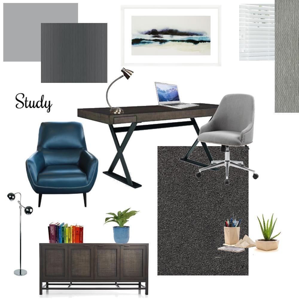 study Interior Design Mood Board by Delcia on Style Sourcebook