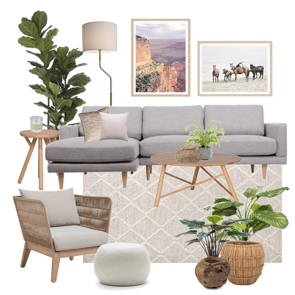 Boho art styling Mood Board by Thediydecorator on Style Sourcebook