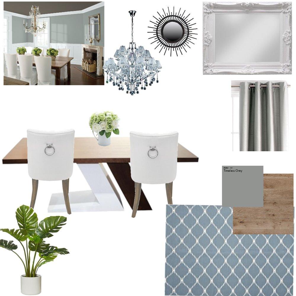 Dinning Room Interior Design Mood Board by Velvet Rose Interior Designs on Style Sourcebook