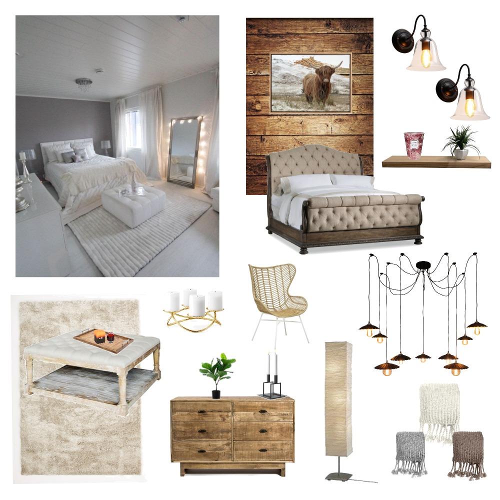Rustic Bedroom Interior Design Mood Board by Katiexcx on Style Sourcebook