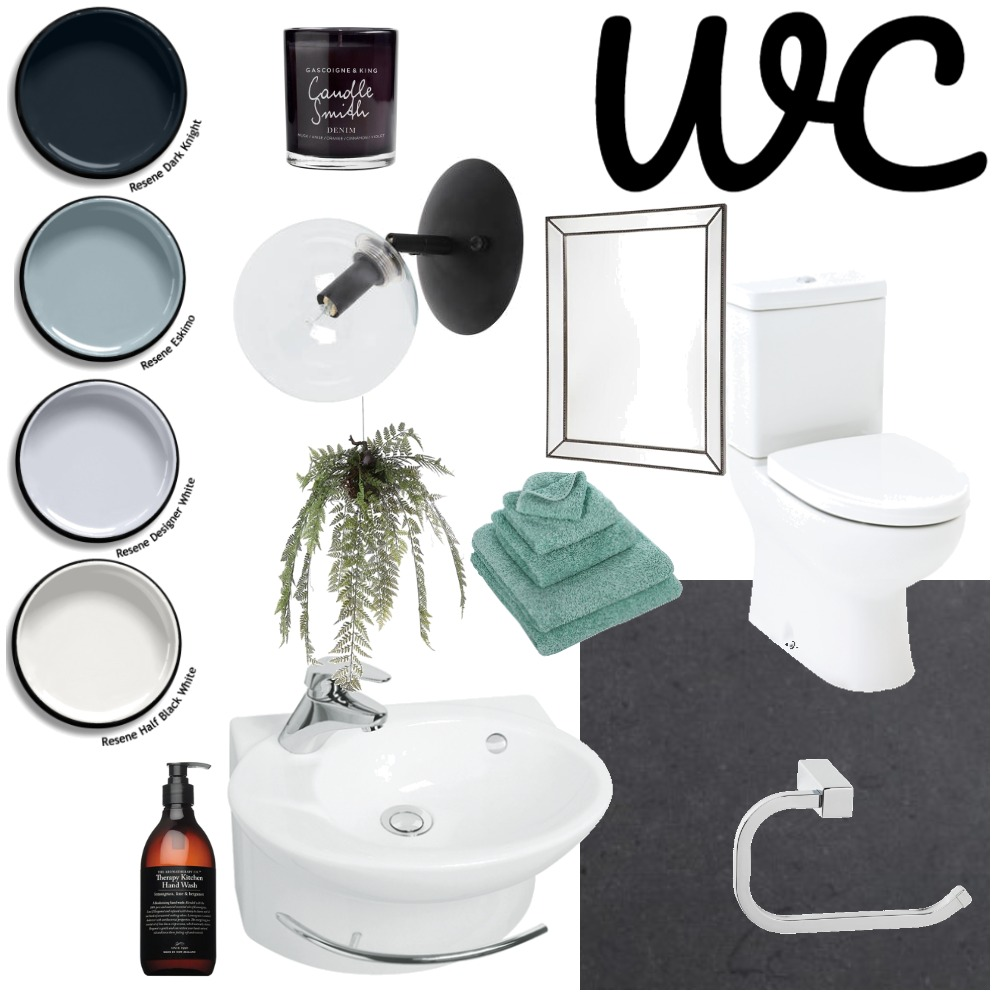 WC Interior Design Mood Board by GlencairnDesigns on Style Sourcebook
