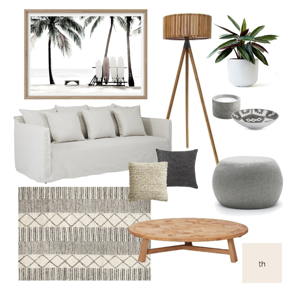 coastal organic Interior Design Mood Board by traceharts on Style Sourcebook