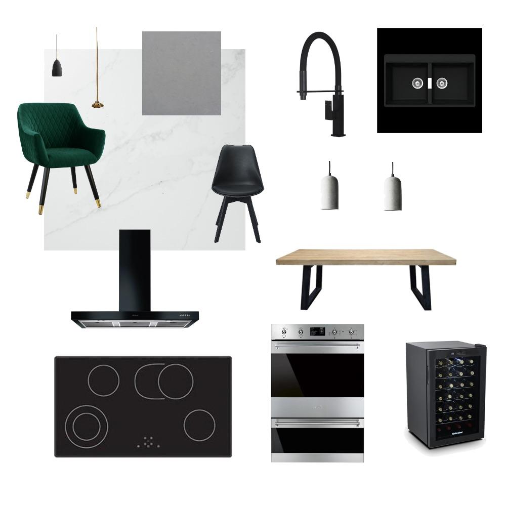 Modern Kitchen Interior Design Mood Board by NatashaS95 on Style Sourcebook