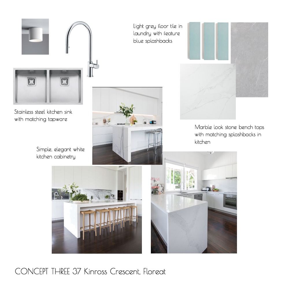 Concept Three- Floreat Interior Design Mood Board by Alicia on Style Sourcebook