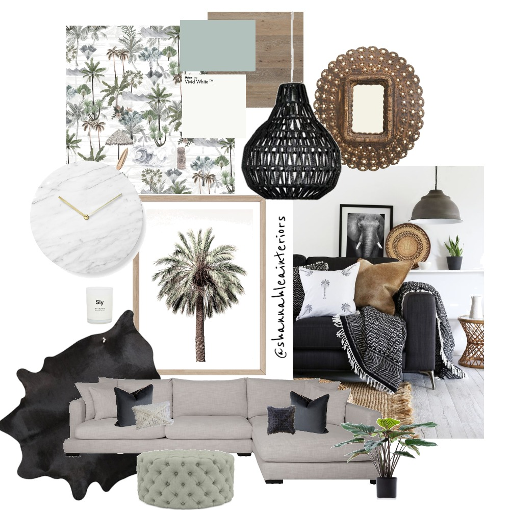 Boho Haven Interior Design Mood Board by Shannah Lea Interiors on Style Sourcebook