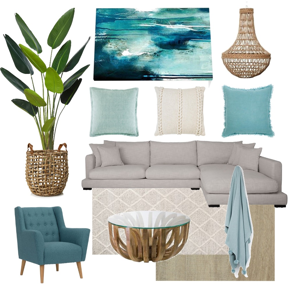 Lounge Room Interior Design Mood Board by PetrolBlueDesign on Style Sourcebook