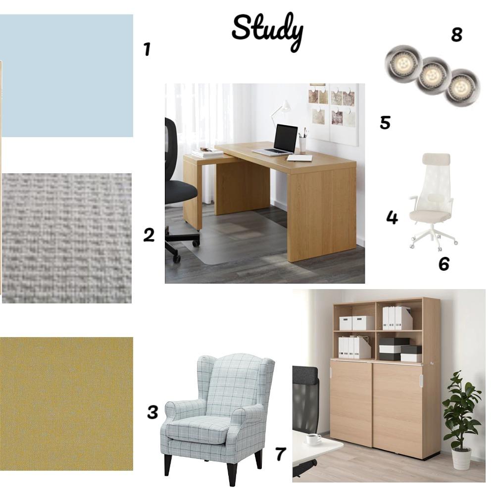 Study Interior Design Mood Board by matilda on Style Sourcebook