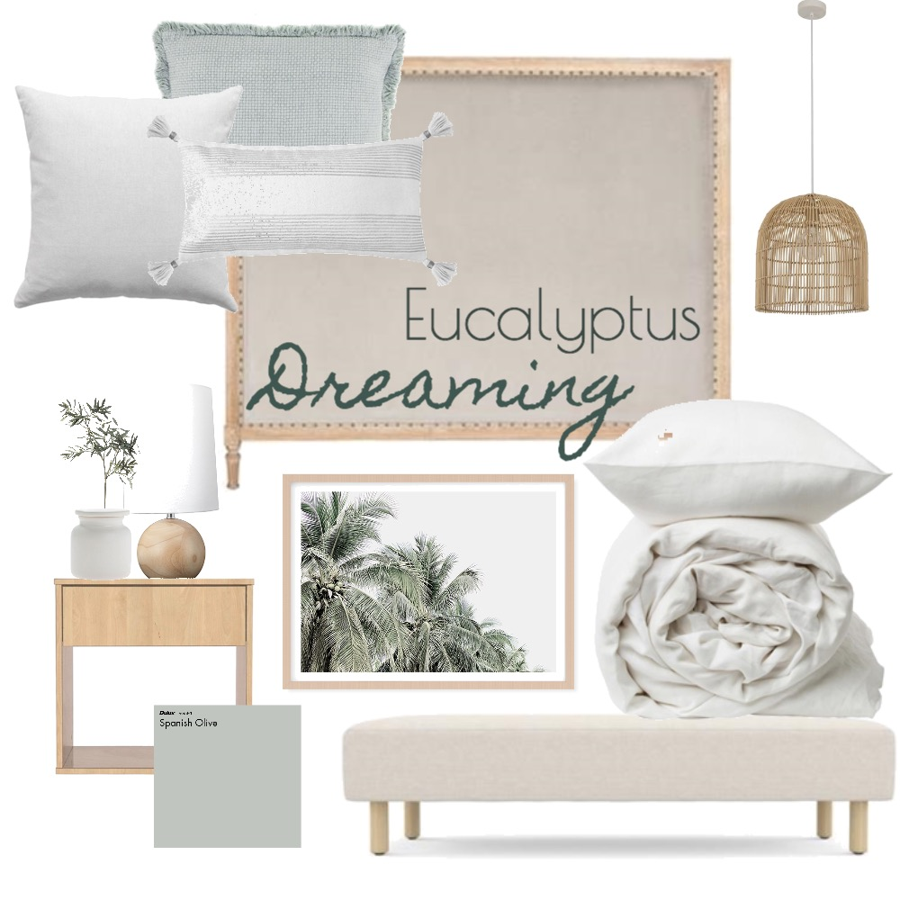 Eucalytpus Dreaming Interior Design Mood Board by BecStanley on Style Sourcebook