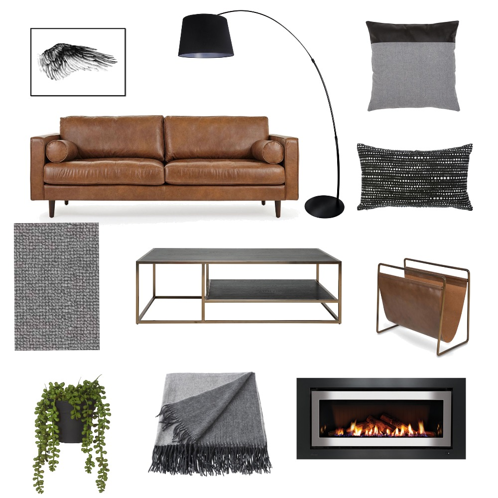 Masculine Interior Design Mood Board by PetrolBlueDesign on Style Sourcebook
