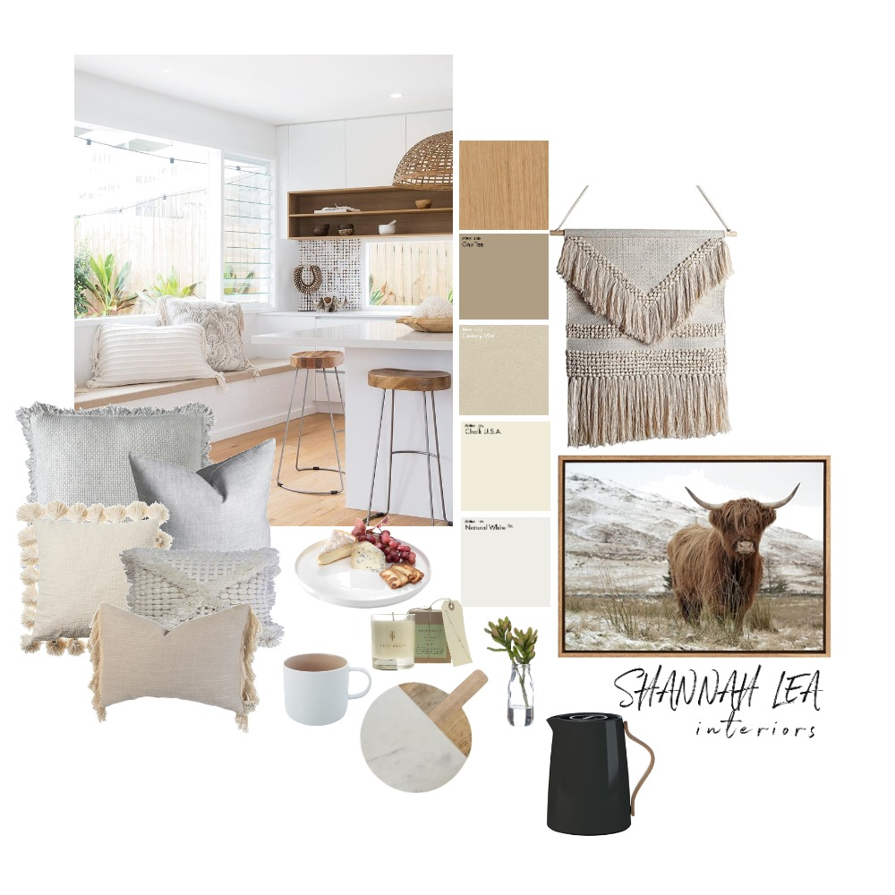 Kitchen/Living Interior Design Mood Board by Shannah Lea Interiors on Style Sourcebook