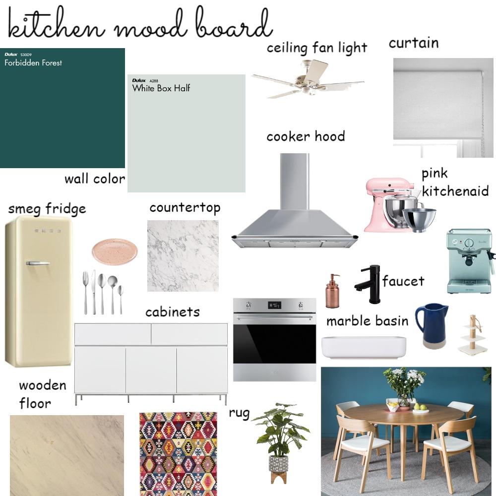kitchen moodboard Interior Design Mood Board by kleoniki on Style Sourcebook