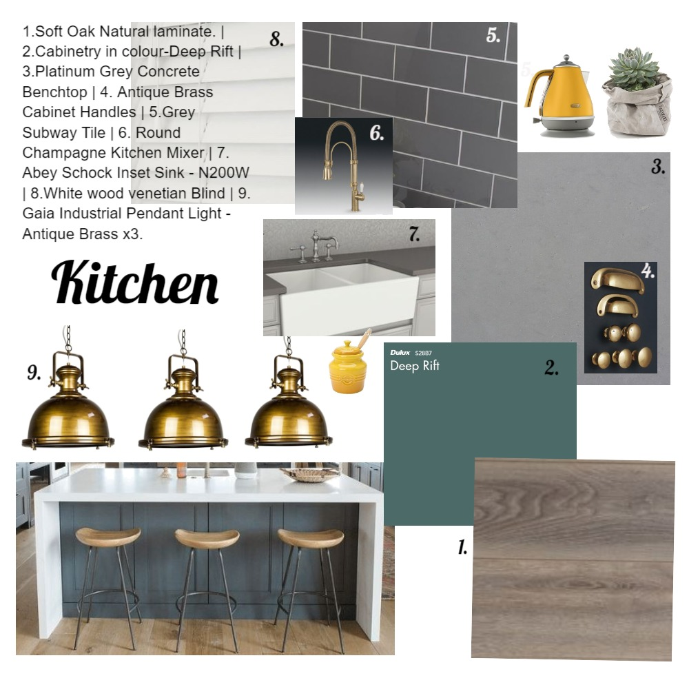 Kitchen Interior Design Mood Board by KerriJean on Style Sourcebook