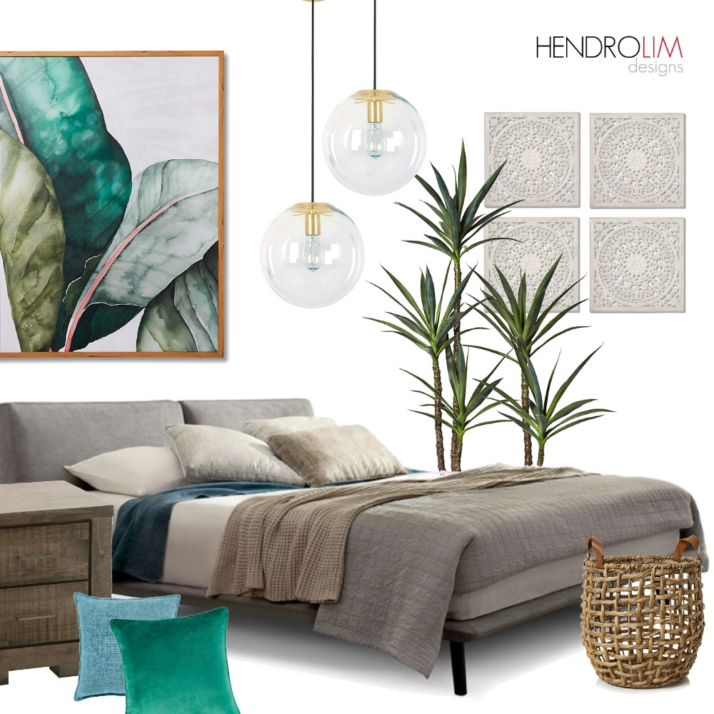 Tropical Paradise Interior Design Mood Board by Hendro Lim Designs on Style Sourcebook