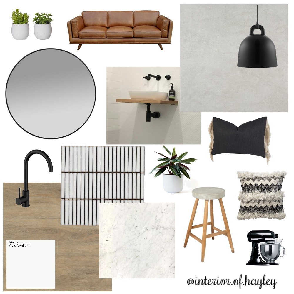 Joey's Apartment 2 Interior Design Mood Board by Two Wildflowers on Style Sourcebook