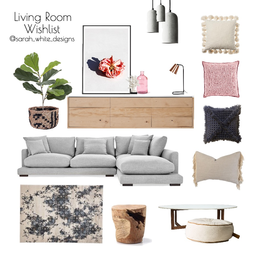 Living Room Wish List Interior Design Mood Board by WhiteDesigns on Style Sourcebook