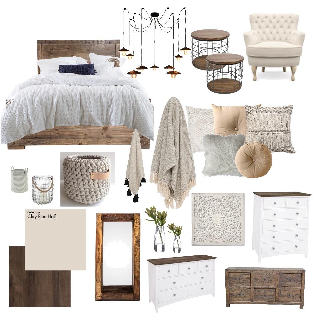 Rustic Bedroom Interior Design Mood Board by BrittaniRobinson on Style Sourcebook