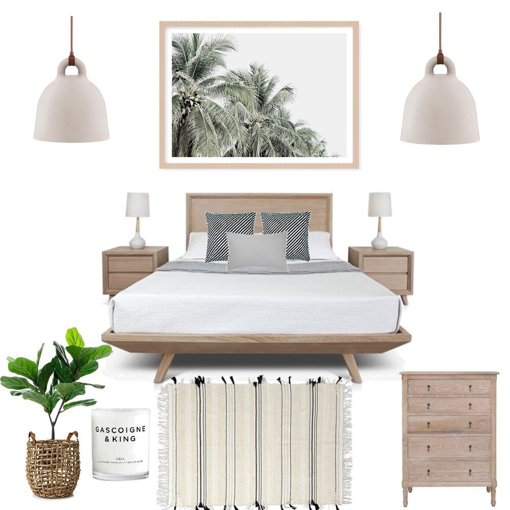 Island luxe bedroom Interior Design Mood Board by stylishlivingaustralia on Style Sourcebook