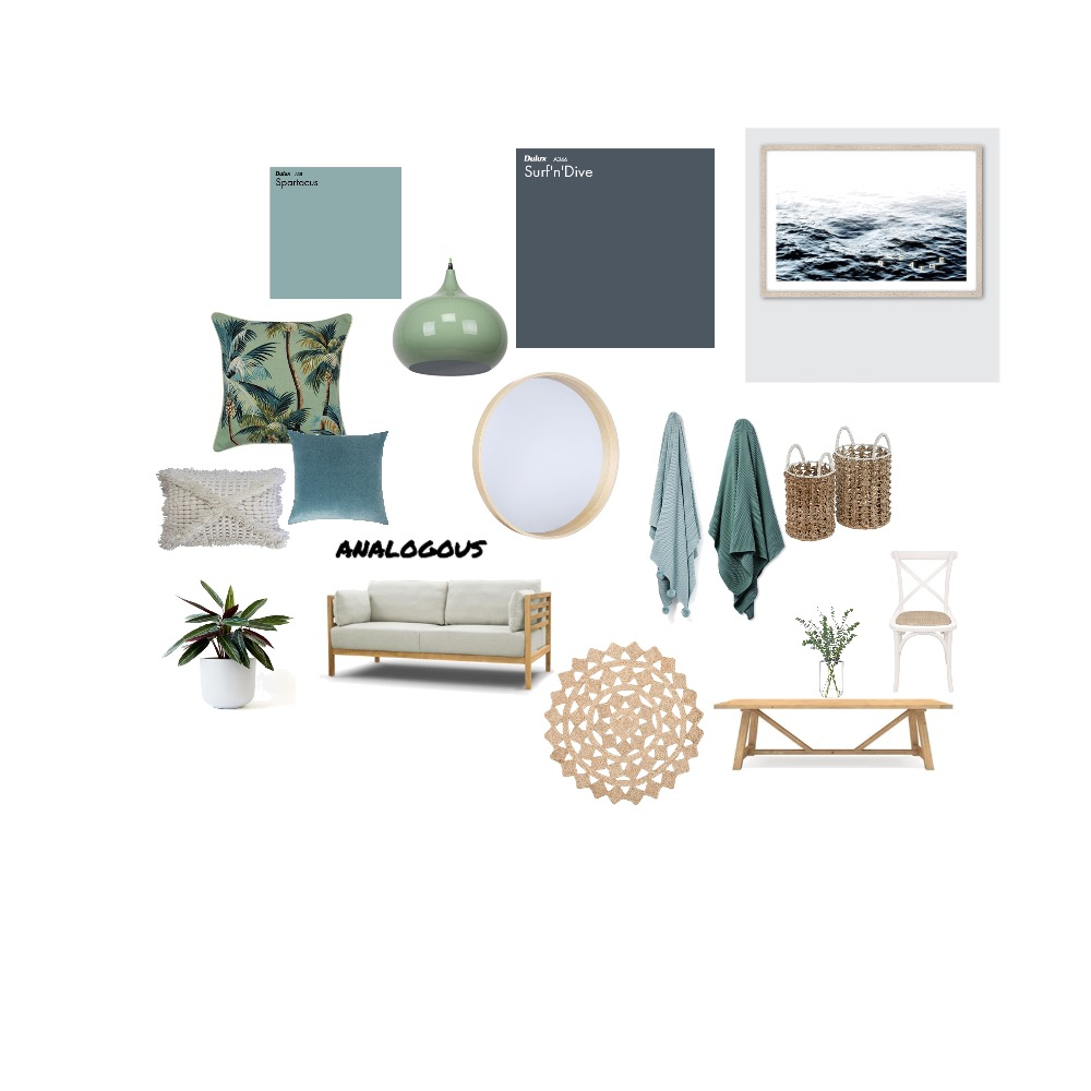 analogous Interior Design Mood Board by Emmadunkley on Style Sourcebook
