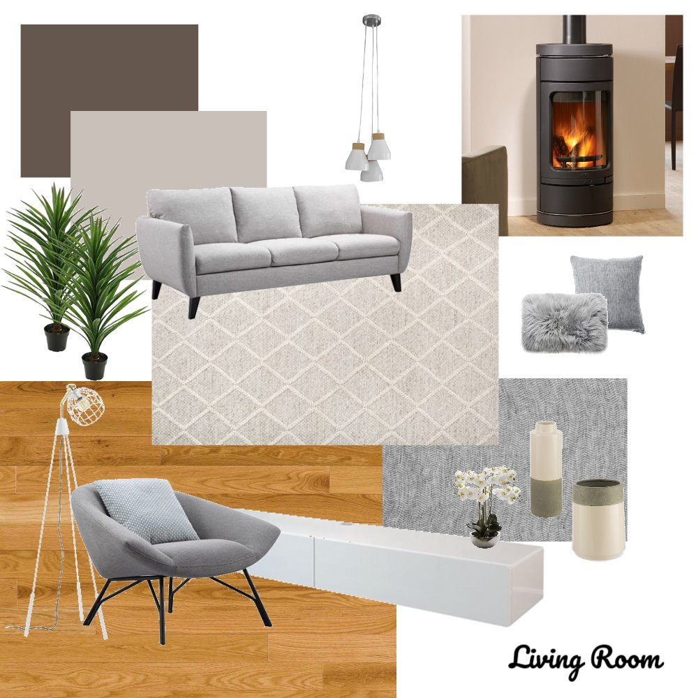 Living Room Interior Design Mood Board by Gina on Style Sourcebook