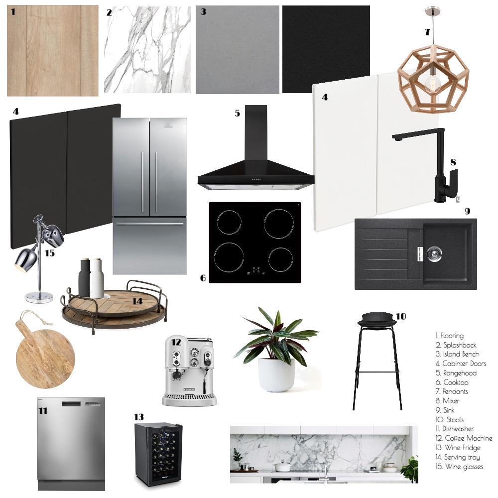 Module 9: Kitchen Interior Design Mood Board by feigej on Style Sourcebook