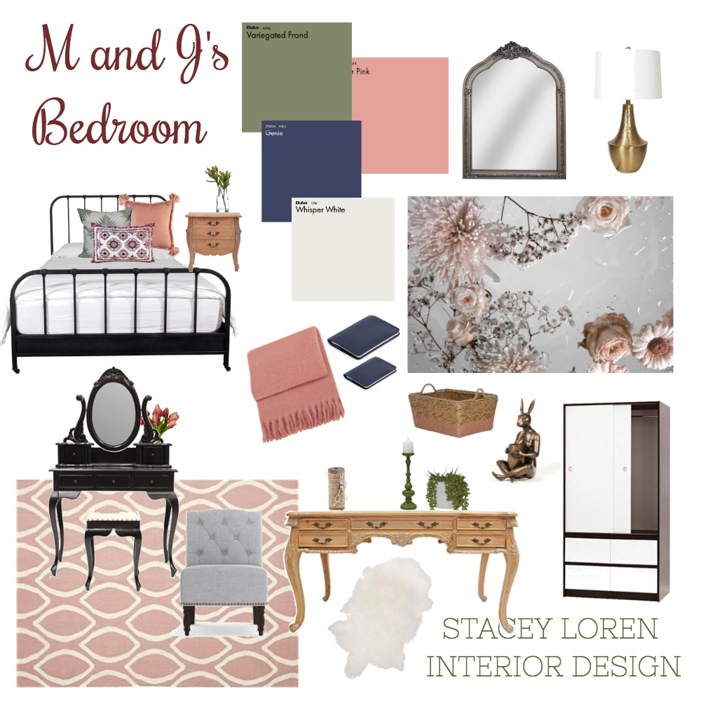 Murray Bedroom M & J's Interior Design Mood Board by staceyloveland on Style Sourcebook