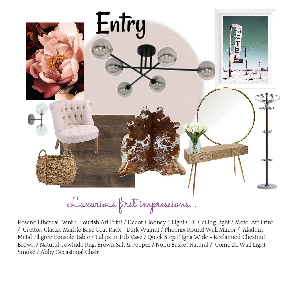 entry Interior Design Mood Board by aloudinside on Style Sourcebook