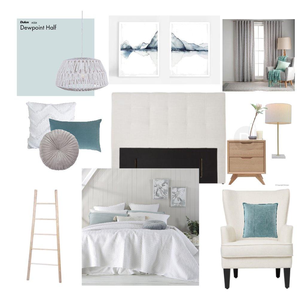 Kaiteri Master Bedroom Interior Design Mood Board by chanelmcglashen on Style Sourcebook