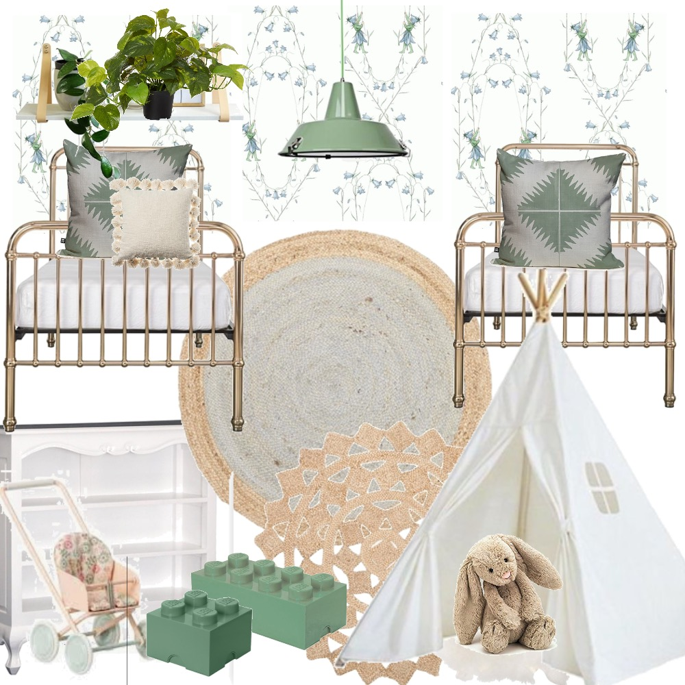 Kids_bed_Makad Interior Design Mood Board by Carrizalesalbien on Style Sourcebook
