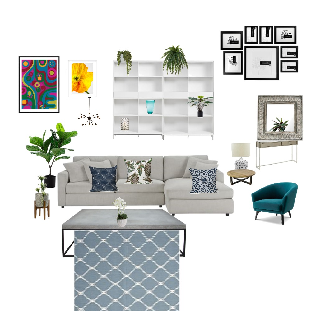 living room Interior Design Mood Board by michelledowding on Style Sourcebook