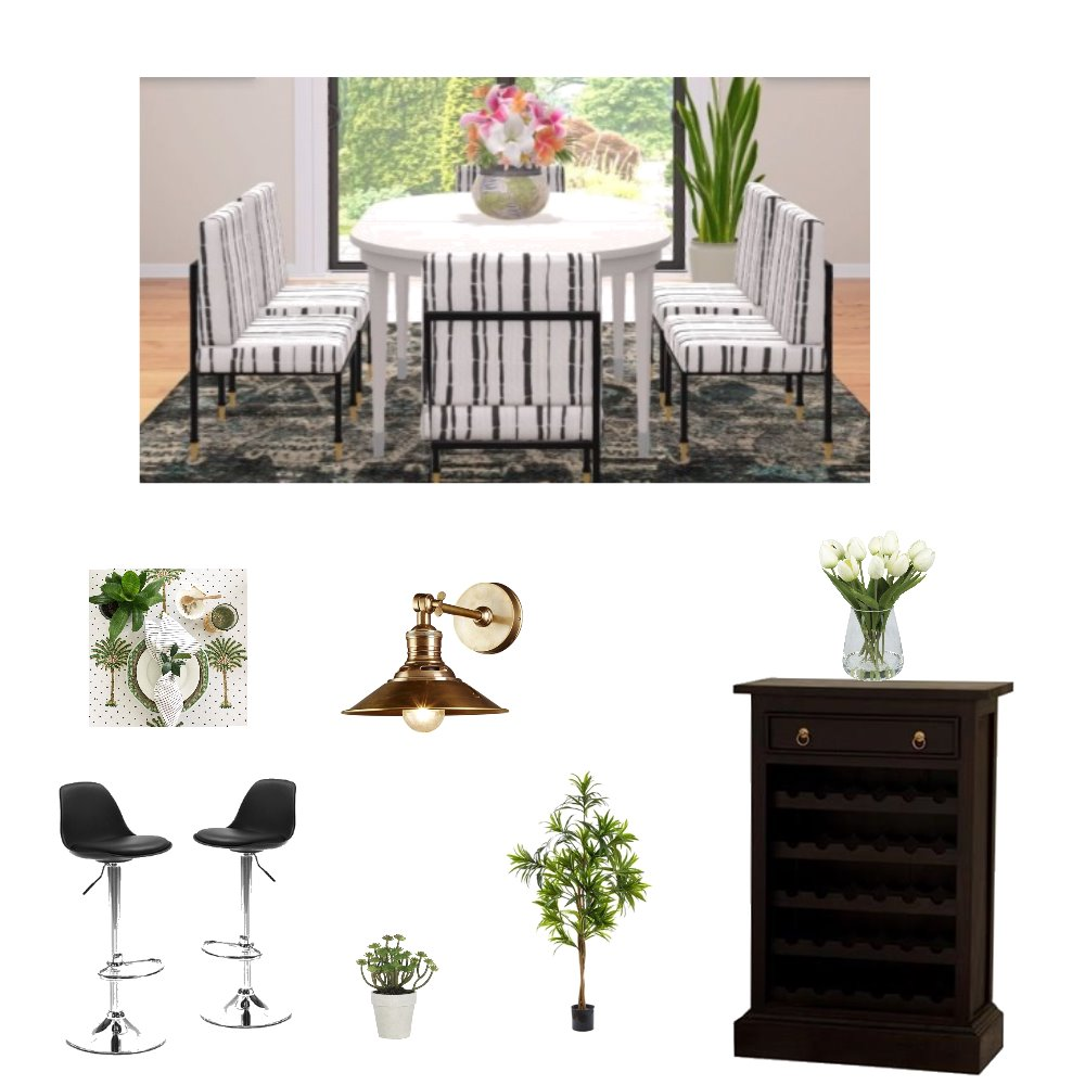 Dinning Interior Design Mood Board by Sandy on Style Sourcebook