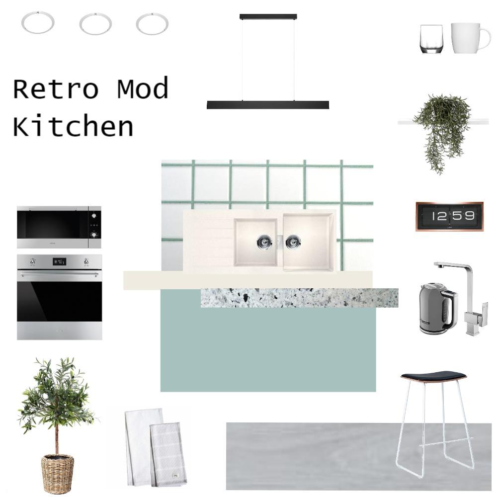 Retro Mod Kitchen Mood Board by JoannaLee on Style Sourcebook