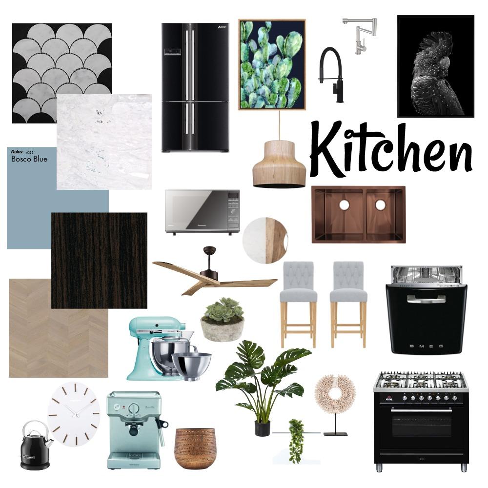 Dream Kitchen Interior Design Mood Board by Sez on Style Sourcebook