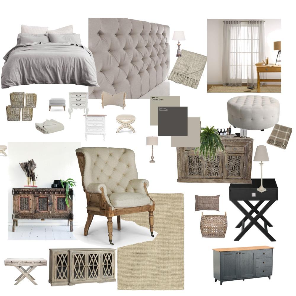 Binders Bedroom Interior Design Mood Board by vondamason2 on Style Sourcebook