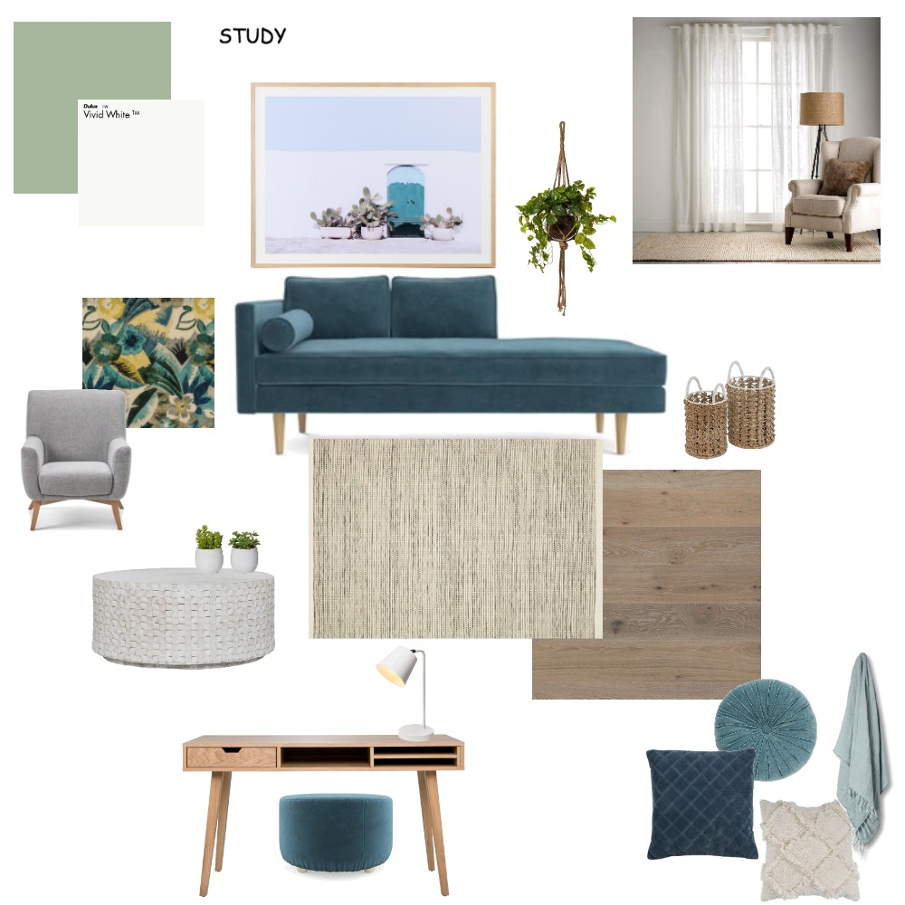 study Interior Design Mood Board by Emmadunkley on Style Sourcebook