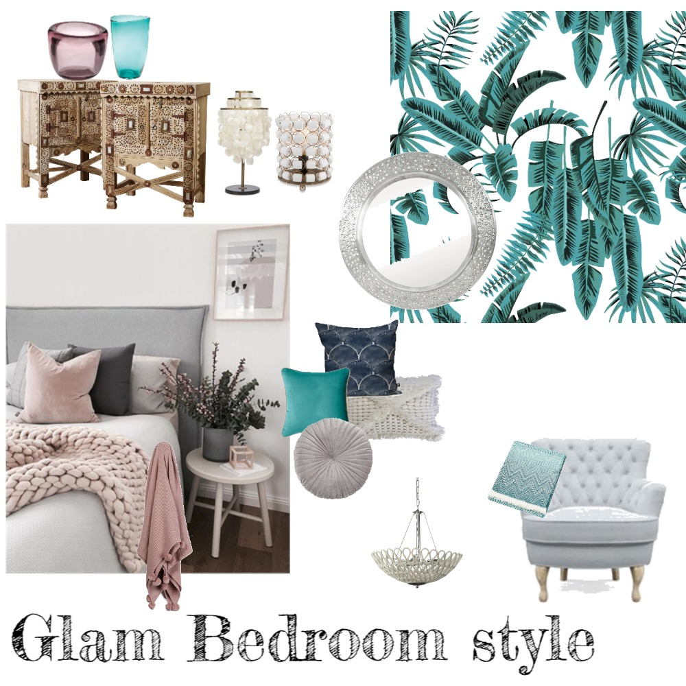 Bold & Glam #glamdecor Interior Design Mood Board by Amanda47 on Style Sourcebook