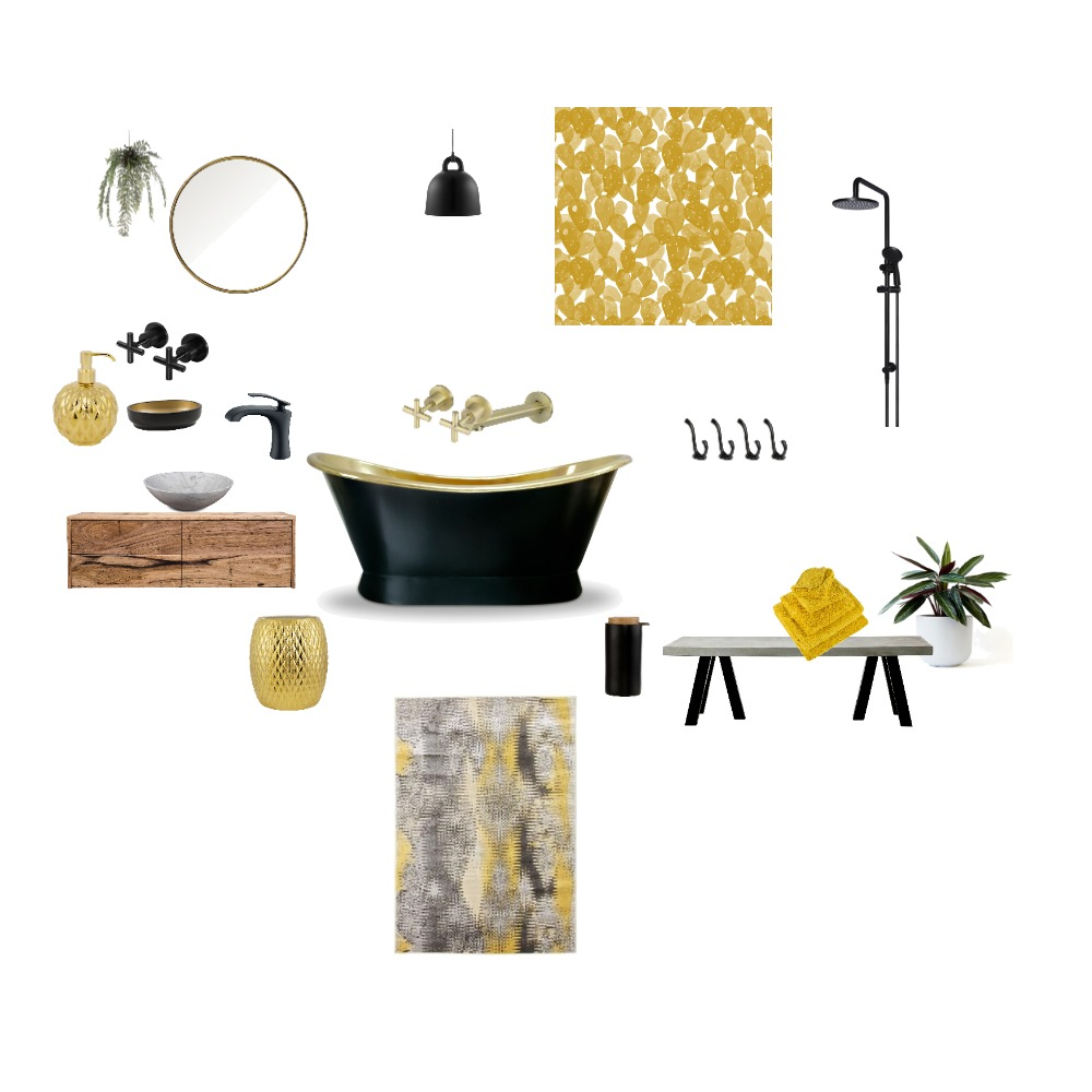 bathroom Interior Design Mood Board by Gkt on Style Sourcebook