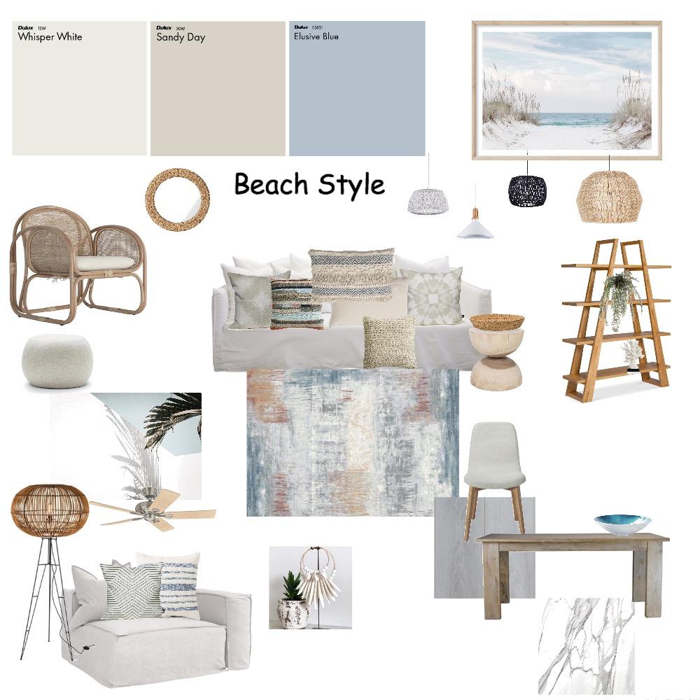 Beach Style Interior Design Mood Board by irenedan on Style Sourcebook