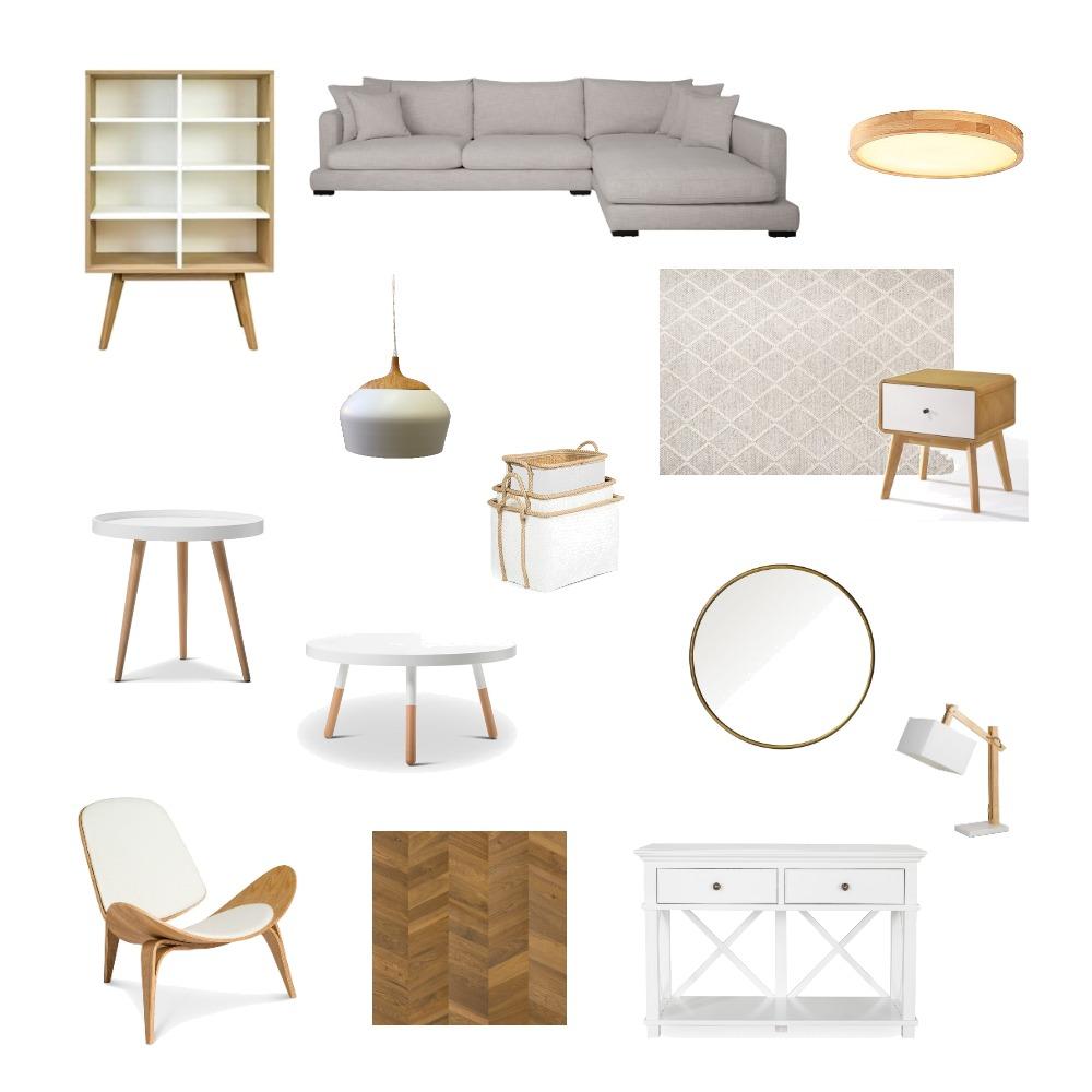 לבן ועץ Interior Design Mood Board by michal1123 on Style Sourcebook