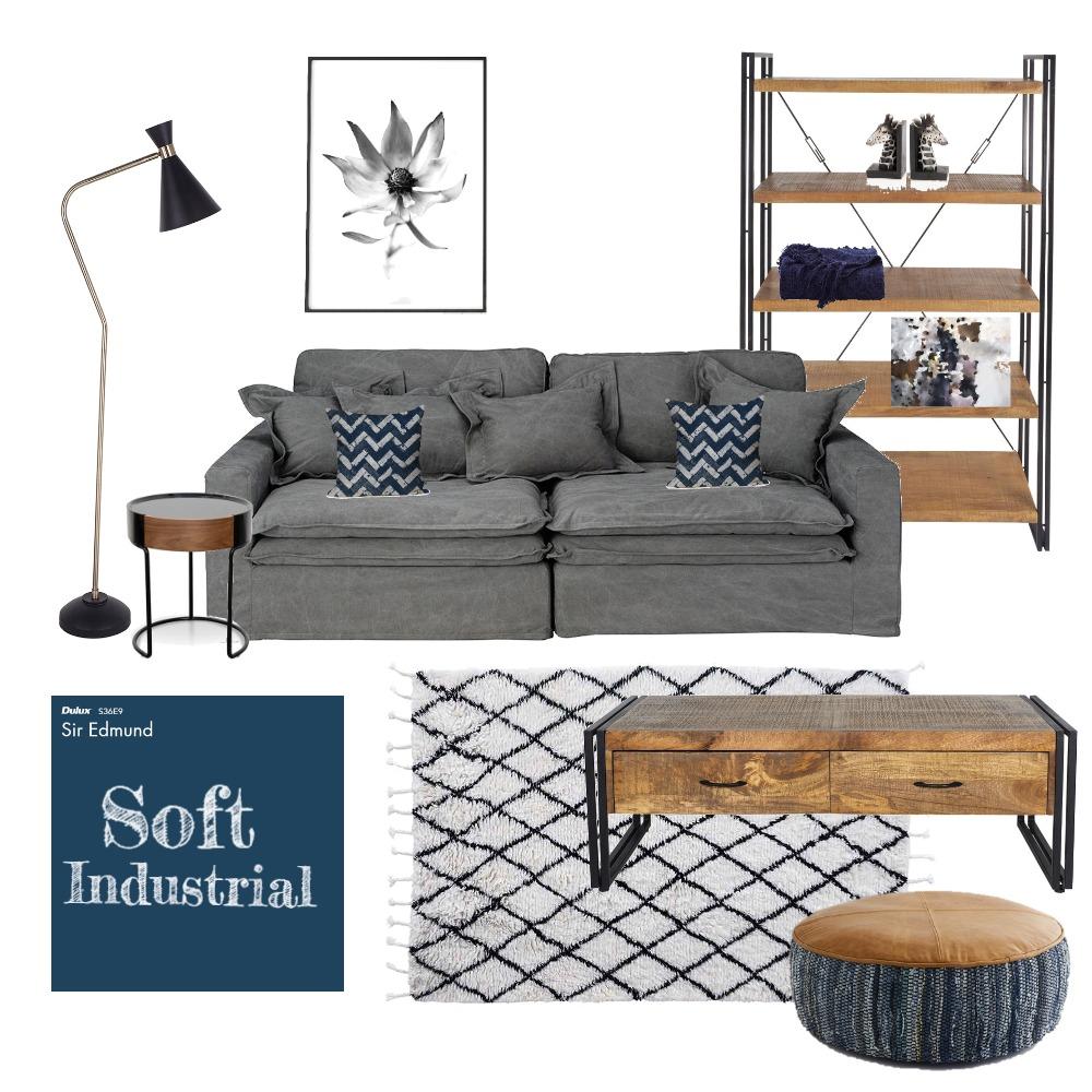 Soft Industrial Interior Design Mood Board by kimsav on Style Sourcebook