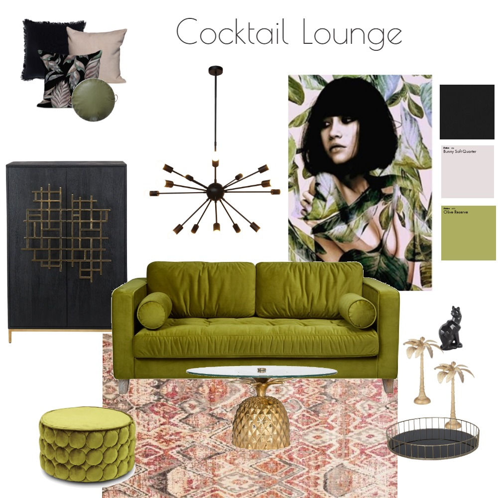 Cocktail Lounge Interior Design Mood Board by LC Interiors on Style Sourcebook