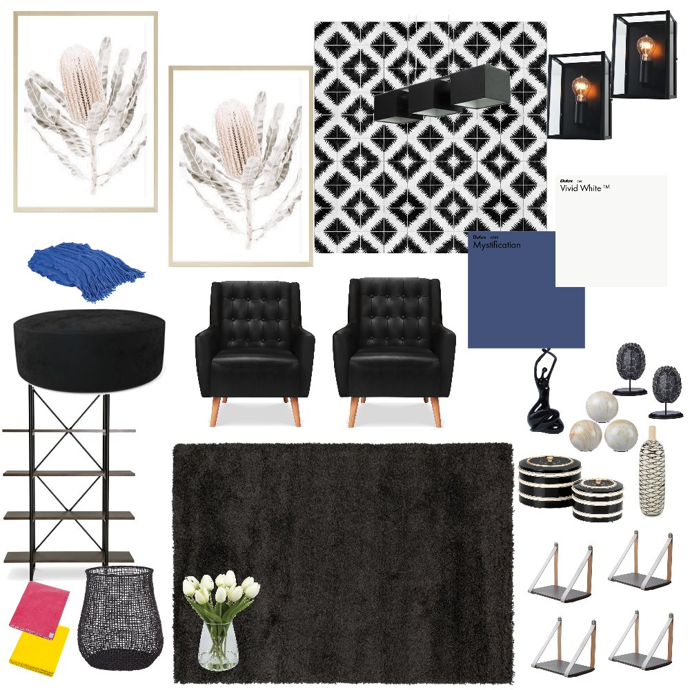 Theater Room Interior Design Mood Board by shandathomas on Style Sourcebook