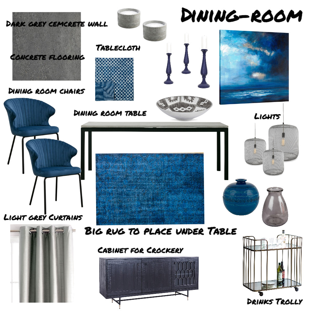 dining room Interior Design Mood Board by marikegeorgiades on Style Sourcebook
