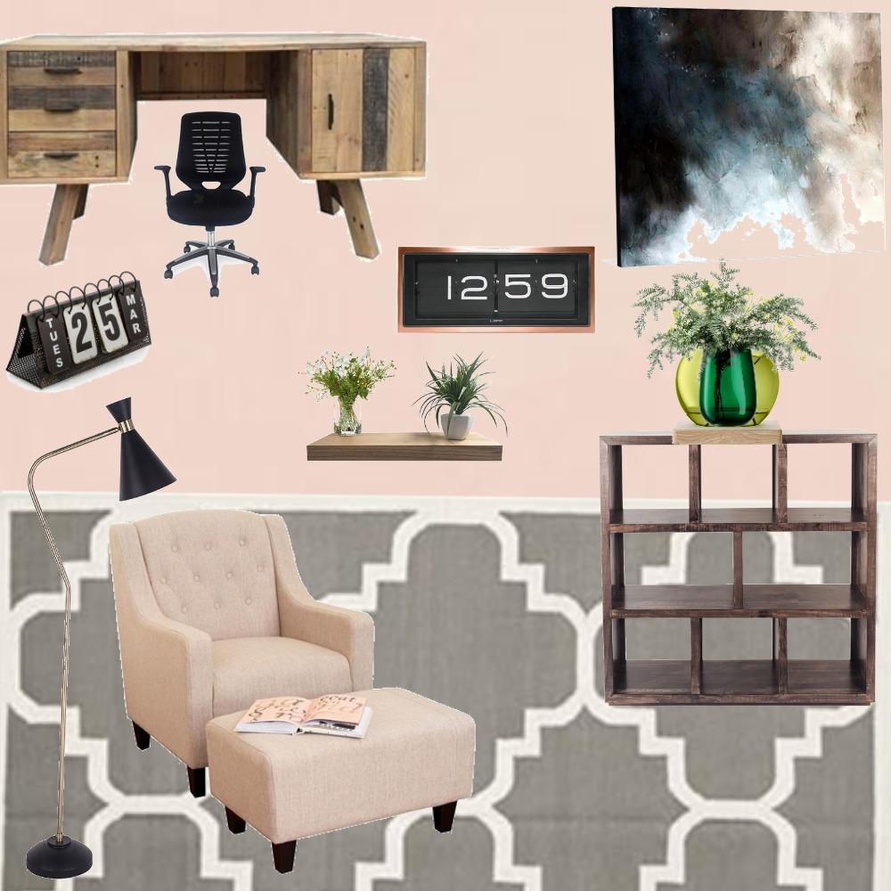 Study room Interior Design Mood Board by AainaVirmani on Style Sourcebook