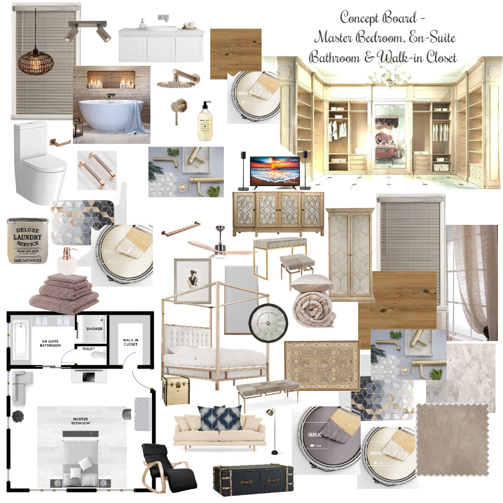 The Concept Board Interior Design Mood Board by samar on Style Sourcebook