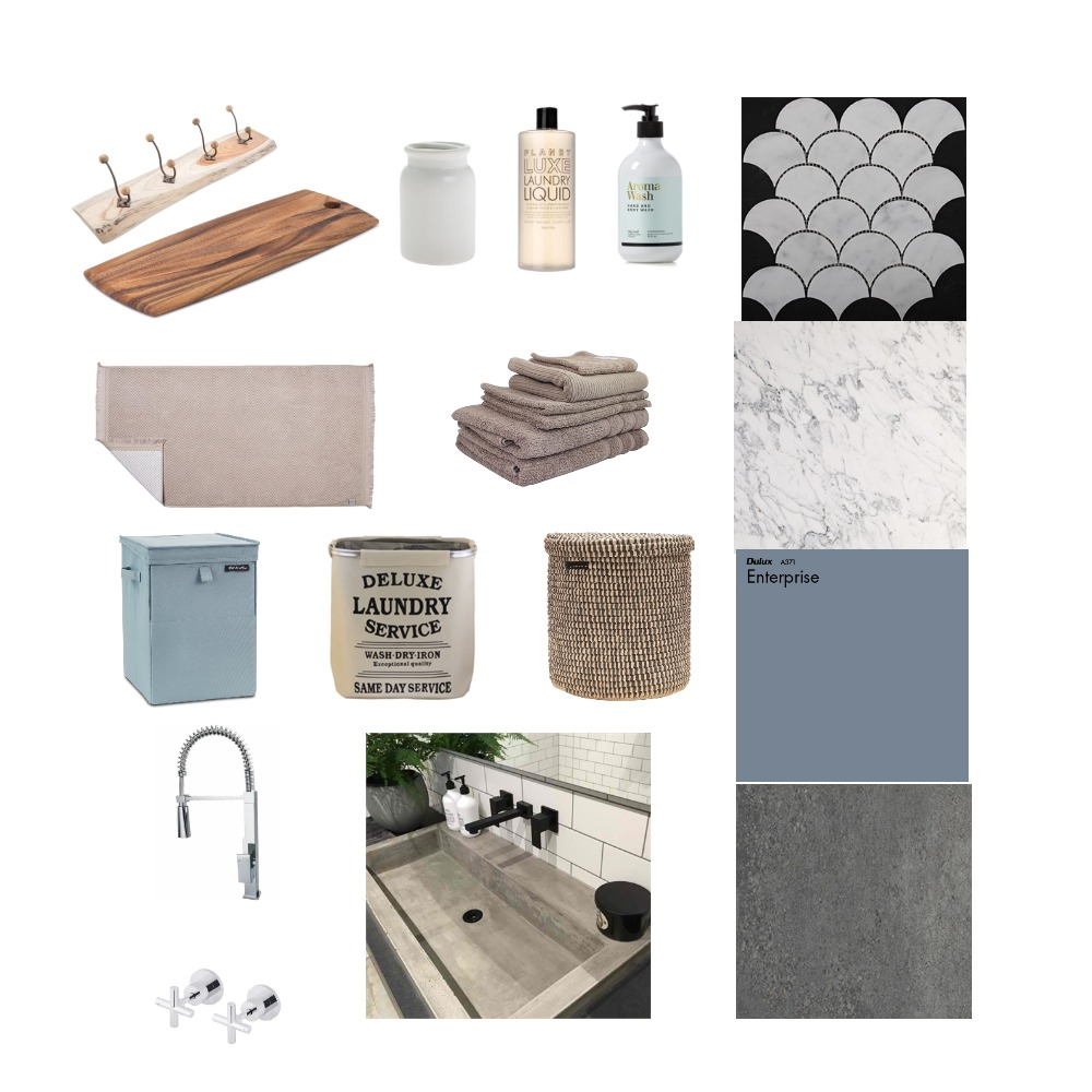 Laundry Interior Design Mood Board by estelle on Style Sourcebook